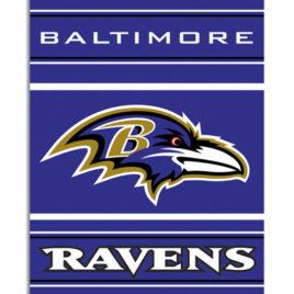 Baltimore Ravens | 2-Sided 28 X 40 House Banner