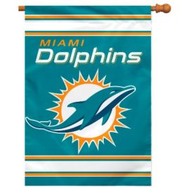 Miami Dolphins | 2-Sided 28 X 40 House Banner