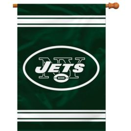 New York Jets | 2-Sided 28 X 40 House Banner