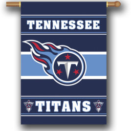 Tennessee Titans | 2-Sided 28 X 40 House Banner