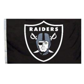 Oakland Raiders | 3 Ft. X 5 Ft. Flag W/Grommetts