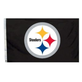 Pittsburgh Steelers | 3 Ft. X 5 Ft. Flag W/Grommetts
