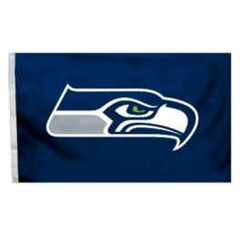 Seattle Seahawks | 3 Ft. X 5 Ft. Flag W/Grommetts