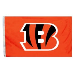 Cincinnati Bengals | 3 Ft. X 5 Ft. Flag W/Grommetts