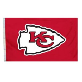 Kansas City Chiefs | 3 Ft. X 5 Ft. Flag W/Grommetts