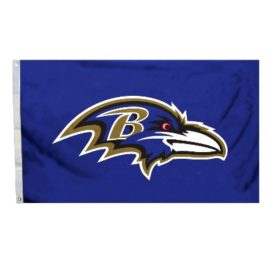 Baltimore Ravens | 3 Ft. X 5 Ft. Flag W/Grommetts