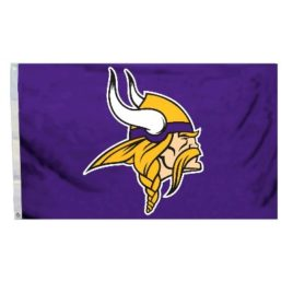 Minnesota Vikings | 3 Ft. X 5 Ft. Flag W/Grommetts