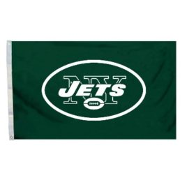 New York Jets | 3 Ft. X 5 Ft. Flag W/Grommetts