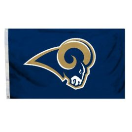 St. Louis Rams | 3 Ft. X 5 Ft. Flag W/Grommetts