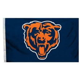 Chicago Bears | 3 Ft. X 5 Ft. Flag W/Grommetts