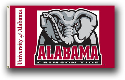 Alabama Crimson Tide | 3 Ft. X 5 Ft. Flag W/Grommets
