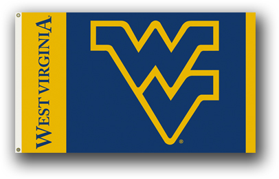 West Virginia Mountaineers | 3 Ft. X 5 Ft. Flag W/Grommets