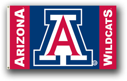 Arizona Wildcats | 3 Ft. X 5 Ft. Flag W/Grommets