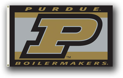 Purdue Boilermakers | 3 Ft. X 5 Ft. Flag W/Grommets