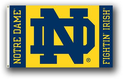 Notre Dame | 3 Ft. X 5 Ft. Flag W/Grommets