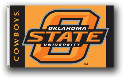 Oklahoma State Cowboys | 3 Ft. X 5 Ft. Flag W/Grommets