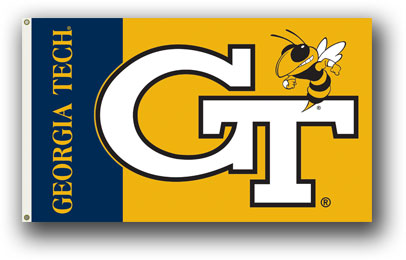 Georgia Tech Yellow Jackets | 3 Ft. X 5 Ft. Flag W/Grommets