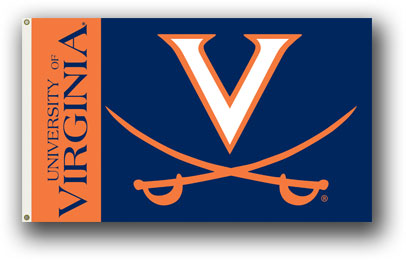 Virginia Cavaliers | 3 Ft. X 5 Ft. Flag W/Grommets