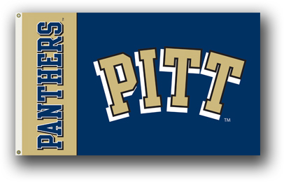 Pittsburgh Panthers | 3 Ft. X 5 Ft. Flag W/Grommets