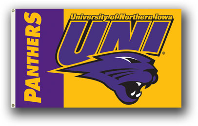 Northern Iowa | 3 Ft. X 5 Ft. Flag W/Grommets
