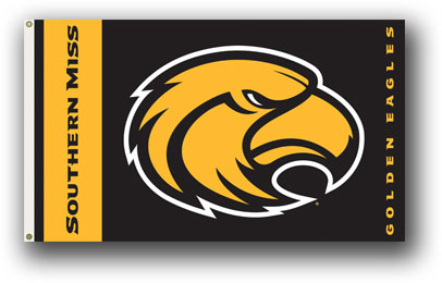 Southern Miss Golden Eagles | 3 Ft. X 5 Ft. Flag W/Grommets