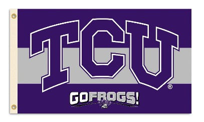Texas Christian Horned Frogs | 3 Ft. X 5 Ft. Flag W/Grommets
