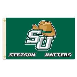 Stetson  (w/hat) | 3 Ft. X 5 Ft. Flag W/Grommets