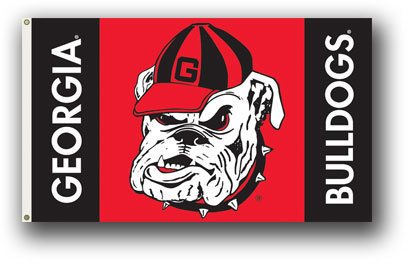 Georgia Bulldogs | 3 Ft. X 5 Ft. Flag W/Grommets