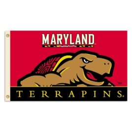 Maryland Terrapins | 3 Ft. X 5 Ft. Flag W/Grommets