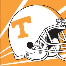 Tennessee Volunteers | 3 Ft. X 5 Ft. Flag W/Grommets – Helmet Design