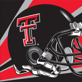 Texas Tech Red Raiders | 3 Ft. X 5 Ft. Flag W/Grommets – Helmet Design