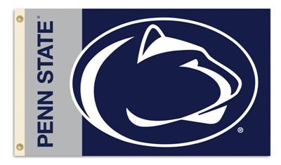 Penn State Nittany Lions | 3 Ft. X 5 Ft. Flag W/Grommets