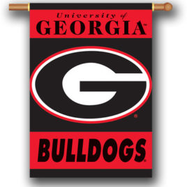 Georgia Bulldogs | 2-Sided 28″ X 40″ Banner W/ Pole Sleeve