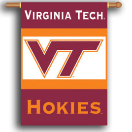 Virginia Tech Hokies | 2-Sided 28″ X 40″ Banner W/ Pole Sleeve