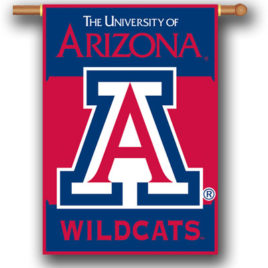 Arizona Wildcats | 2-Sided 28″ X 40″ Banner W/ Pole Sleeve