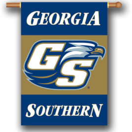 Georgia Southern Eagles | 2-Sided 28″ X 40″ Banner W/ Pole Sleeve