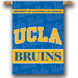UCLA Bruins | 2-Sided 28″ X 40″ Banner W/ Pole Sleeve