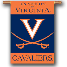 Virginia Cavaliers | 2-Sided 28″ X 40″ Banner W/ Pole Sleeve