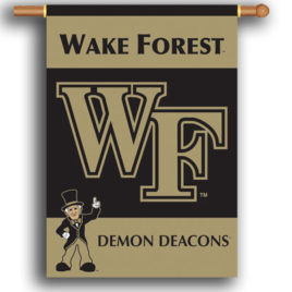Wake Forest | 2-Sided 28″ X 40″ Banner W/ Pole Sleeve