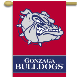 Gonzaga Bulldogs | 2-Sided 28″ X 40″ Banner W/ Pole Sleeve