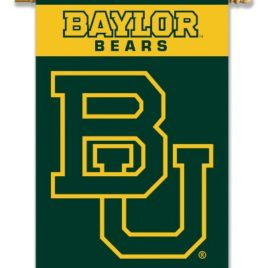 Baylor Bears | 2-Sided 28″ X 40″ Banner W/ Pole Sleeve