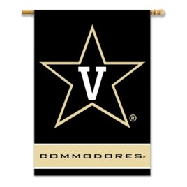 Vanderbilt Commodores | 2-Sided 28″ X 40″ Banner W/ Pole Sleeve