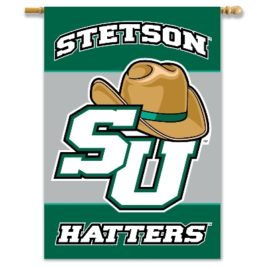 Stetson | 2-Sided 28″ X 40″ Banner W/ Pole Sleeve