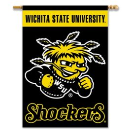 Wichita State | 2-Sided 28″ X 40″ Banner W/ Pole Sleeve
