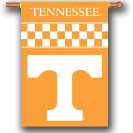 Tennessee Volunteers | 2-Sided 28″ X 40″ Banner W/ Pole Sleeve
