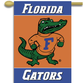 Florida Gators | 2-Sided 28″ X 40″ Banner W/ Pole Sleeve