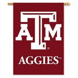 Texas A&M Aggies | 2-Sided 28″ X 40″ Banner W/ Pole Sleeve