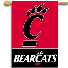 Cincinnati Bearcats | 2-Sided 28″ X 40″ Banner W/ Pole Sleeve