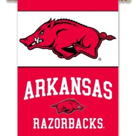 Arkansas Razorbacks | 2-Sided 28″ X 40″ Banner W/ Pole Sleeve