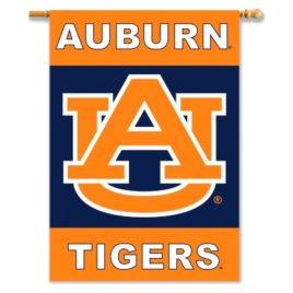 Auburn Tigers | 2-Sided 28″ X 40″ Banner W/ Pole Sleeve